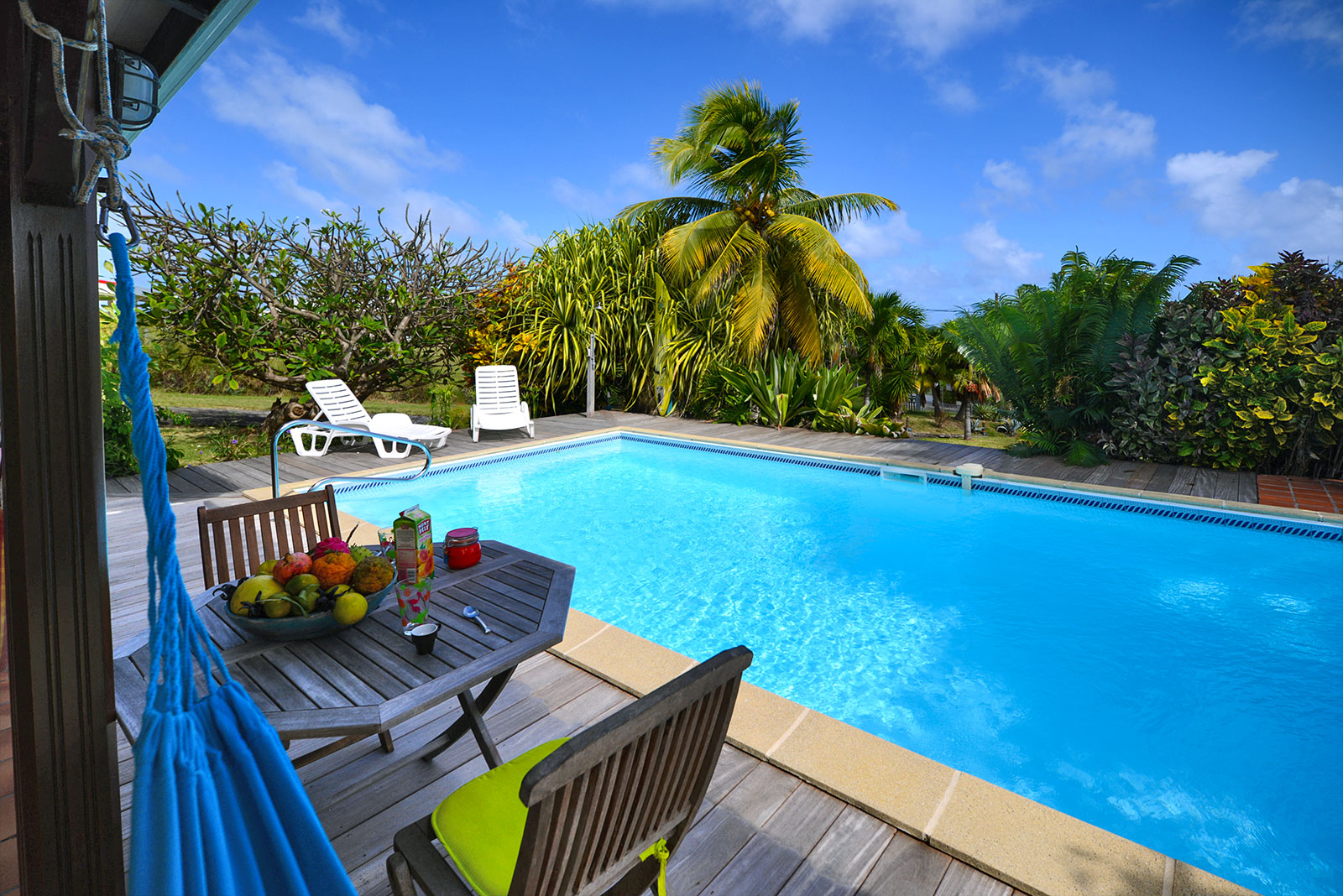 Location villa piscine le vauclin martinque