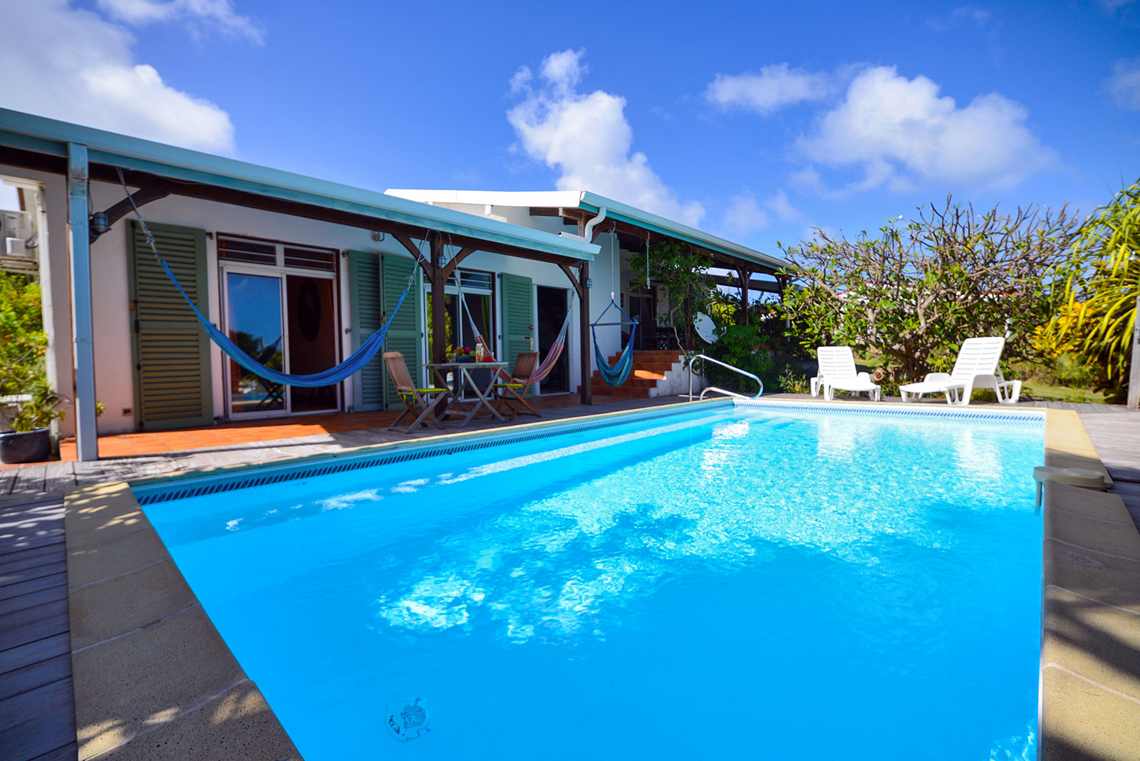 Location villa martinique piscine