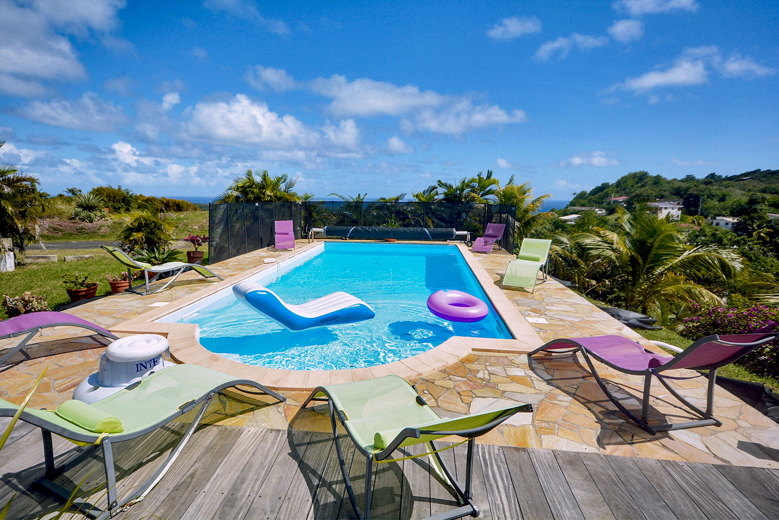 Villa Sainte Anne Martinique piscine