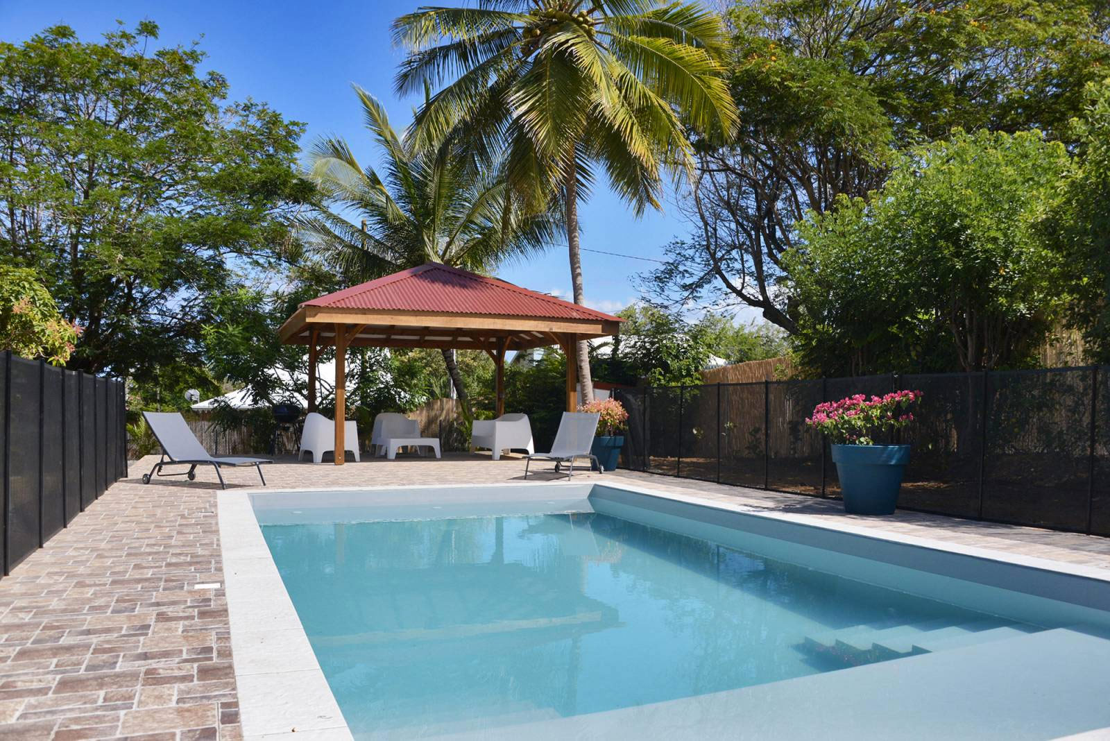 location grande Villa Martinique piscine