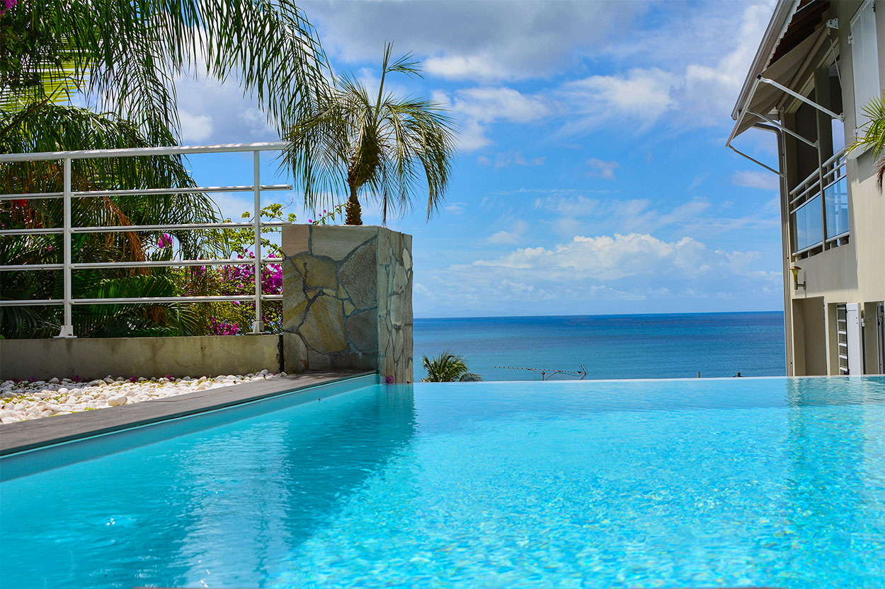 location villa Martinique Condo Le diamant grand voile