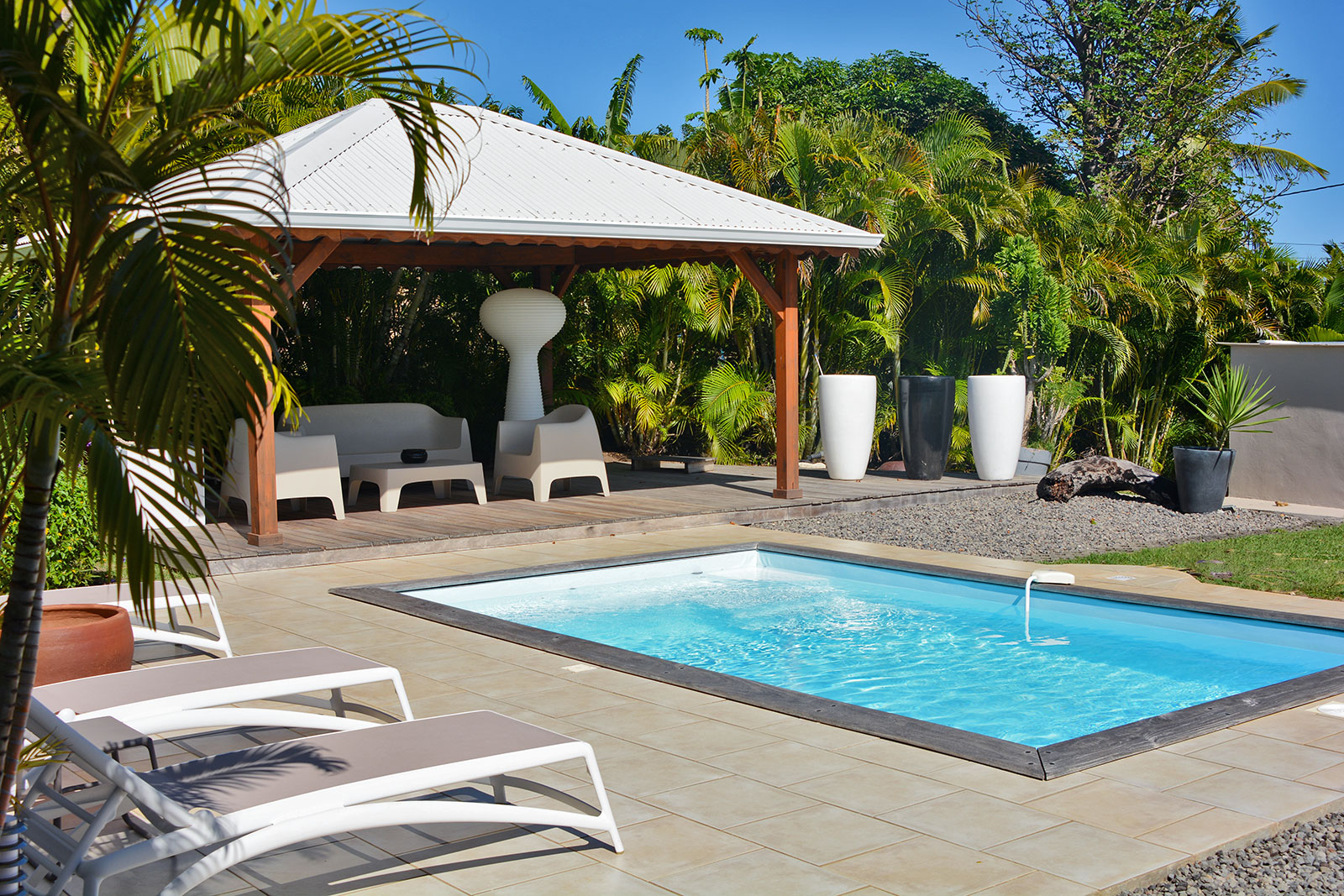 Location villa martinique piscine le vauclin