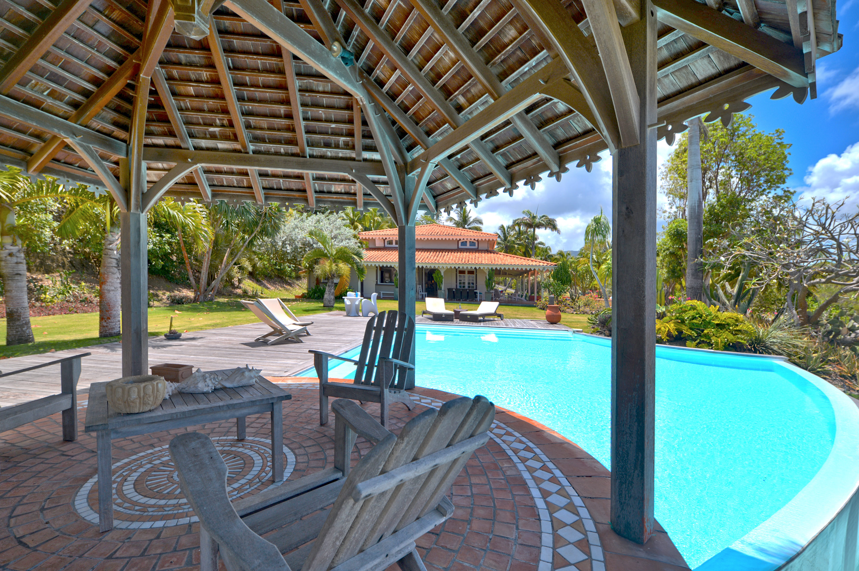 villa de prestige martinique