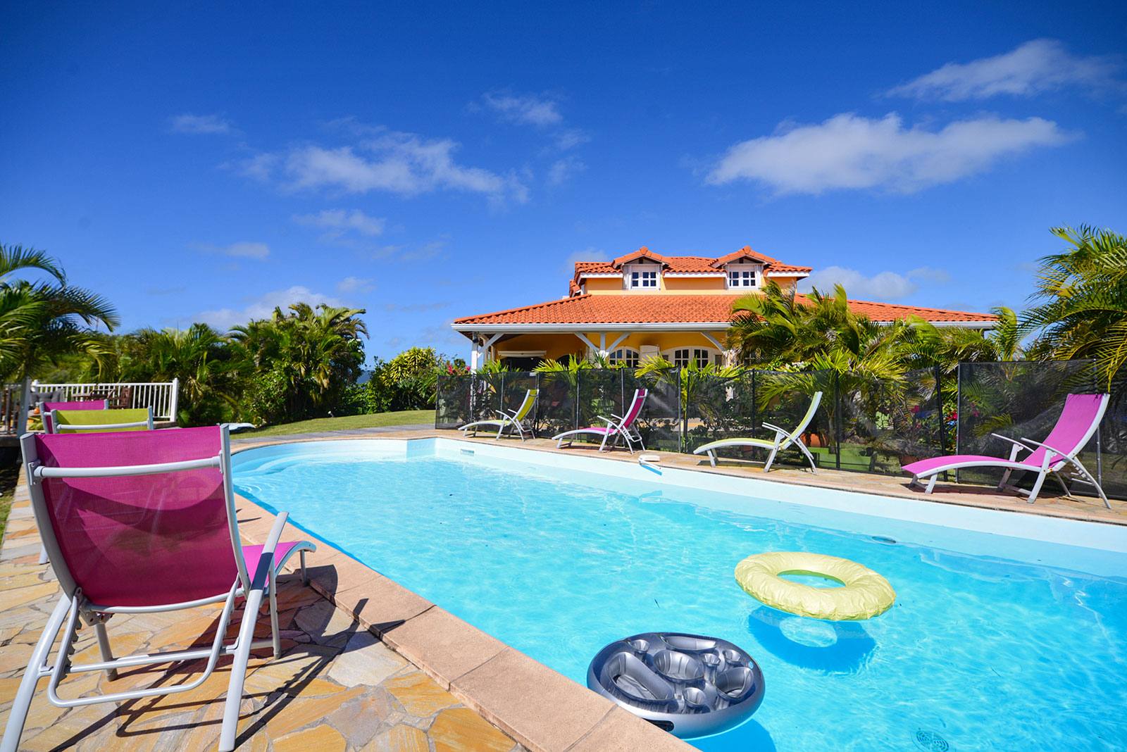 Location villa martinique Kaz arome Sainte Anne