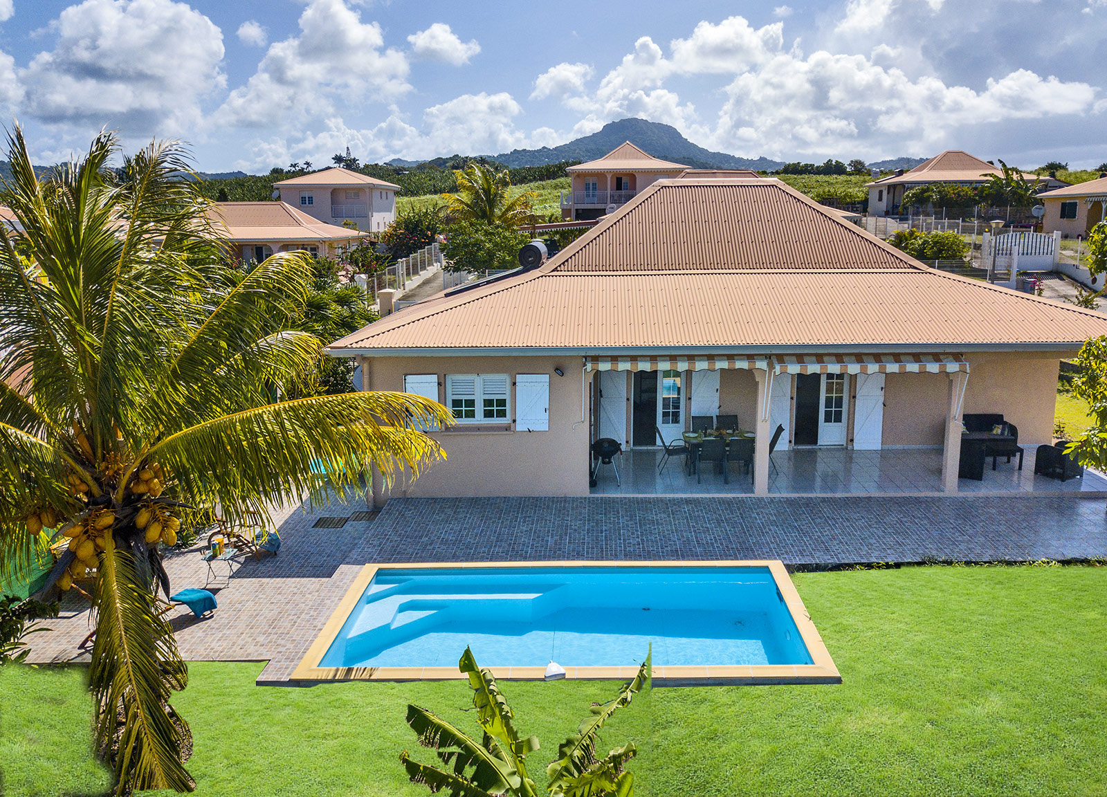 Location villa rainbow martinique le vauclin